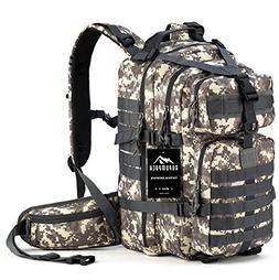 RUPUMPACK Military Tactical Backpack Hydration Backpack, Arm