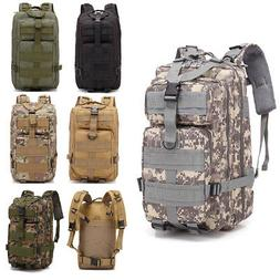 Military Tactical Assault Pack Backpack Army Molle Waterproo