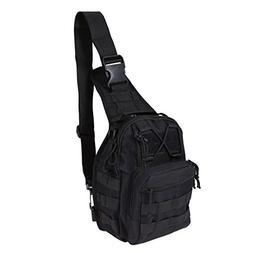REDGO Military Tactical Backpack Shoulder Bag Sling Chest Pa