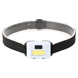 Dreamyth Mini LED 3 Mode Headlamp AAA Headlight Adjustable C