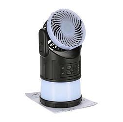 GAOLIIQN Mini Fan Lamp,Camping Lamp,LED Portable Lantern,S