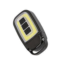 YJYdada Mini USB COB LED Torch Light Key Chain EDC Light Rec