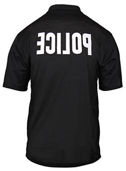 Rothco Moisture Wicking Public Safety Polo Shirt, Emblem : P