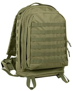 Rothco MOLLE II 3-Day Assault Pack, Olive Drab