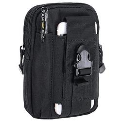 Molle Pouch,Charminer Compact Tactical Sport Multi-functiona