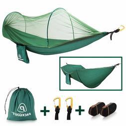 Mosquito Hammock,Net Camping Gear Camping Hammock with Mosqu