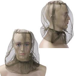 Mosquito Net Hat Bug Net Head - Fabric 4533cm Midge Mosquito