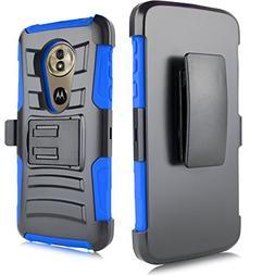 for Motorola Moto G6  5.7' Swivel Belt Clip Holster Heavy Du