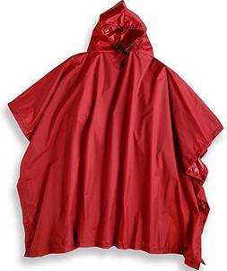 Outdoor Products Multi-Purpose Poncho, Red