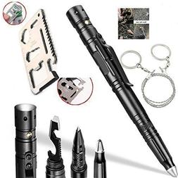 Multitools Tactical Pen Self Defense Pen,Wallet Tool Pocket
