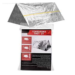 Delmera Mylar Survival Shelter Tent 2 Person Emergency Therm