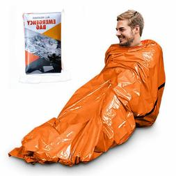 Camping Thermal Sleeping Bag Emergency Survival Hiking Blank