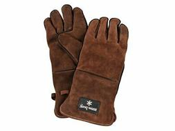 New Snow peak Fire side glove UG-023BR brown BBQ tool Outdoo