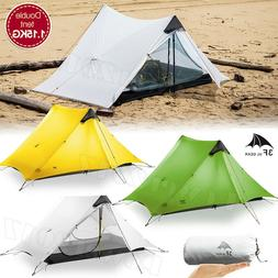 New LanShan 2 3F UL GEAR 2 Person Outdoor Ultralight Camping