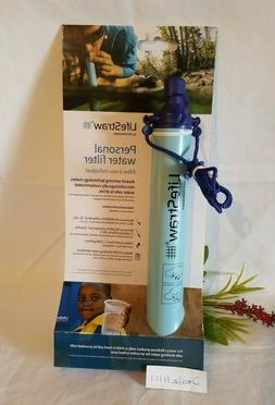 NEW~Personal Water Filter for Hiking, Camping, Travel and Em