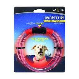 Nite Ize NHO-10-R3 Howl LED Safety Necklace, Red, Adj