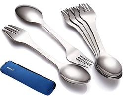 Avery Barn 6pc All-In-One Camping Utensils Cutlery Set - Spo