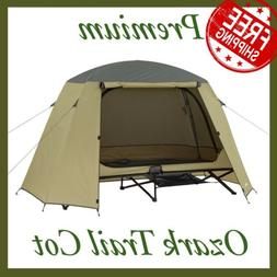 Ozark Trail One-Person Cot Tent New Free Shipping