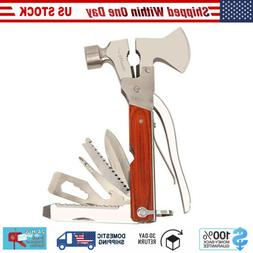 Outdoor Camping Hiking Survival Hammer Emergency Gear Tools