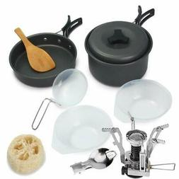 Outdoor Cooking Equipment for Hiking Cookware Camping Mess c