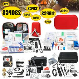 Outdoor Emergency SOS Survival Gear Tool First Aid Kit Trave
