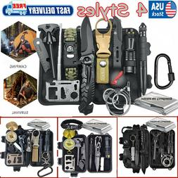 Outdoor Emergency Survival Gear Kit Camping Tactical Tools S