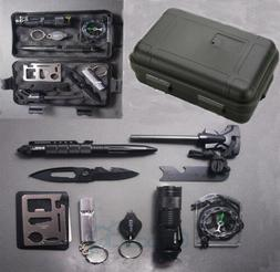 Outdoor Emergency Survival Gear Kit Camping Tactical Tools 1
