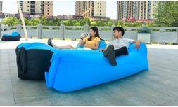 Outdoor Inflatable Air Sofa Bed Waterproof Sleeping Bag Beac