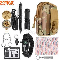 Outdoor SOS Emergency Survival Equipment Kit Gear Tool Tacti