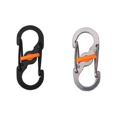Outdoor Survival Camping Hiking Rescue Gear Mini Keychain Mu