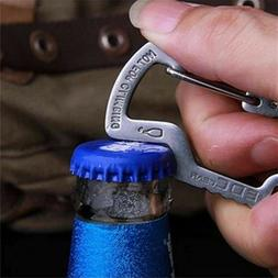 Outdoor Survival Camping Hiking Rescue Gear Mini Carabiner K