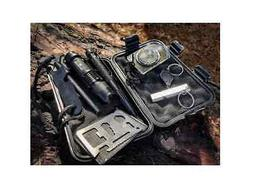 Outdoor Survival Gear Tool Kit for Camping, Hiking, Climbing