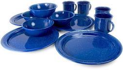 GSI Outdoors Sierra 12 Piece Blue Enable Table Set