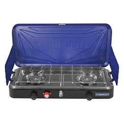 Stansport 21250 Propane Stove Top, Silver/Blue