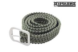 "Milspec 53"" Overall 550 Paracord 7 Insert Belt with Stainles"