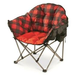 Guide Gear Oversized Club Camp Chair 500 Lb Weight Capacity