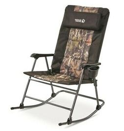 Guide Gear Oversized Rocking Camp Chair 500-lb. Capacity Erg