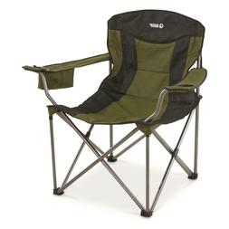 Guide Gear Oversized XXL Camp Chair, 600-lb. Capacity, Green