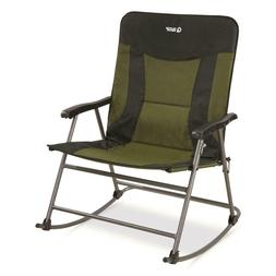 Guide Gear Oversized XXL Rocking Camp Chair, 600-lb. Capacit