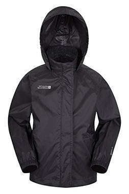 Mountain Warehouse Pakka Kids Rain Jacket - Waterproof - Gir