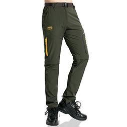 SEEU Men Tactical Pants, Convertible Pant ideal for Hiking C