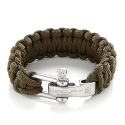 X-Plore Gear Paracord Bracelet Survival Kit For Men, Women |