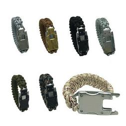 Paracord Bracelet Tactical Survival Gear Tool Outdoor Emerge