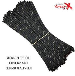 X-cords Paracord 850 Lb Stronger Than 550 and 750 Made By US