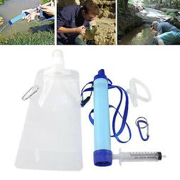 Personal Water Filter for Hiking, Camping, Travel, and Emerg