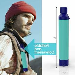 Personal Water Filter Straw for Hiking Camping Travel and Em