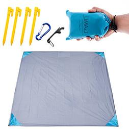 Pocket Blanket for Beach Festival - Camping Hiking Compact S