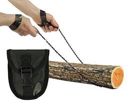 Pocket Chainsaw - Razor Sharp Self Cleaning 25.5 In. Portabl