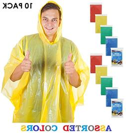 Wealers Poncho One Size Fit All with Hood 10 pieces in displ