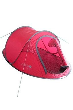 Mountain Warehouse Pop up Tent - 3 Man Family Camping Tent R